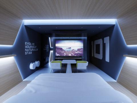 Evolve Hotel, USA - Double Room