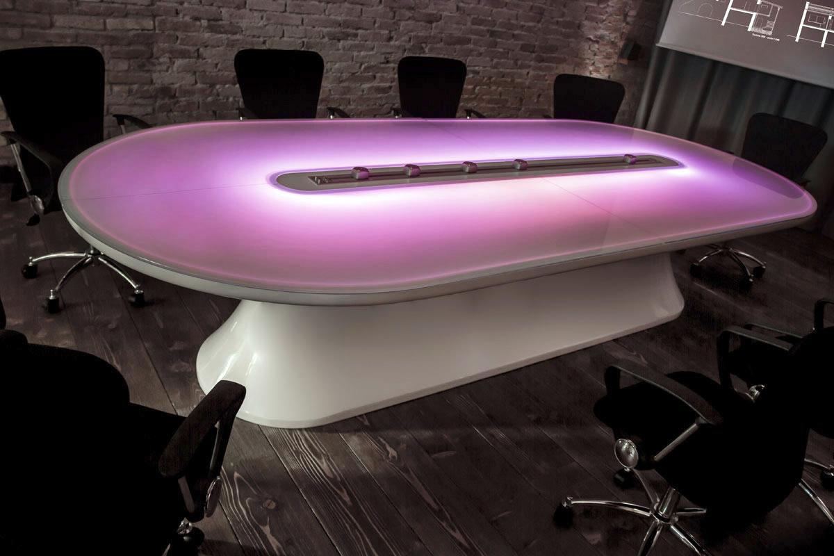 Info Table Futuristic Conference Table In Adamantx