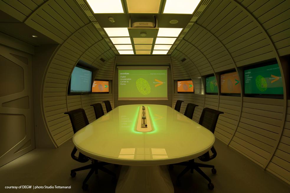 Info Table, designed by Edoardo Carlino for ZAD, inserted in