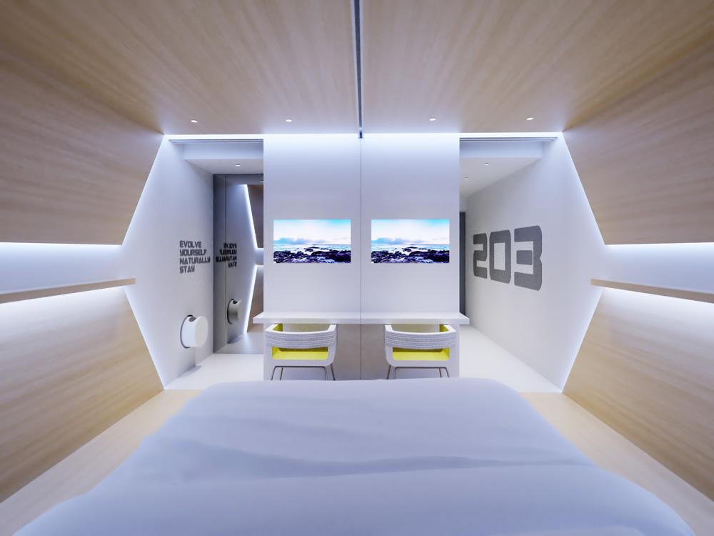 Think Future Design Develops Evolve Concept A Futuristic And Eco