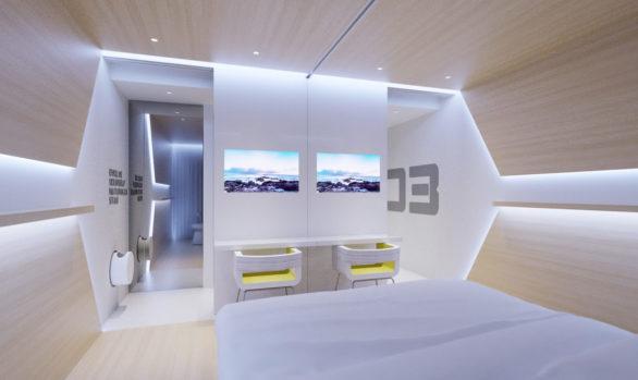 Evolve Hotel, USA - Sharing Room